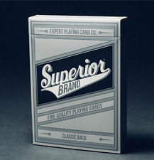 Superior (Black) Playing Cards Deck by Expert Playing Card Co
