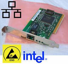 PCI NETZWERKARTE INTEL PRO/100 668081-004 COMP DOS WINDOWS 98 98SE NT 4.0 #V55
