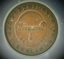 1863 Civil War Token G. Worthington Icg Xf40 Fuld#175S-4a,Oh #S250 (Saz)