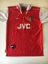 Arsenal nike vintage jersey jvc Size M red kit 96-98 GREAT cond