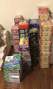 Baseball, Basketball, Football and Hockey Wax Boxes and Sets - Volume Discounts