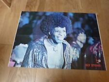 KEITH EMERSON & SLY STONE - Poster !!! VINTAGE 70'S !!! FRENCH !!!