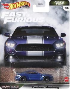 Hot Wheels Premium Fast & Furious Furious Fleet Custom Mustang