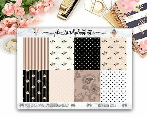 Blush Baby Patterned Full Box Planner Stickers/Scrapbooking/Bujo