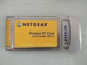 Netgear WG511 Wireless G PC Card 54 Mbps Longer Range