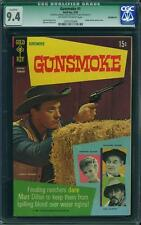 GUNSMOKE 1 CGC 9.4 QUALIFIED GREEN LABEL MISSING CENTERFOLD STORY UNAFFECTED