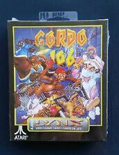 GORDO 106  Atari LYNX New Sealed Complete NOS