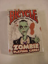 NEW - BICYCLE ZOMBIE PLAYING CARDS