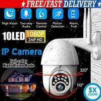 Outdoor HD 1080p PTZ Speed Dome IP Pan Tilt 5X Zoom IR Network Security Cameras