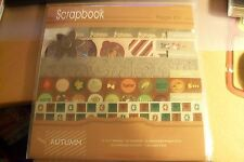 SCRAPBOOK PAGE KIT 8 PAPERS/117 STICKERS/23 CARDSTOCK PUNCH OUTS/LETTERS  NEW