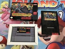 Juego Super Nintendo Snes Super Ghouls'n Ghosts Versión Ntsc Usa Original CIB