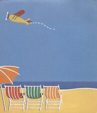 Beach Chairs Plane Stationery Pad