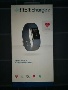 Fitbit Charge 2 Heart Rate + Fitness Wristband, Blue