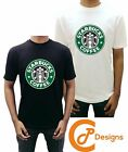 Starbucks Coffee T Shirt Unisex Premium Quality Ladies Men Girls Boys Tshirt Tee