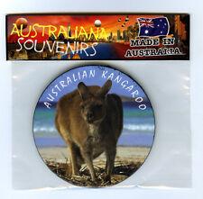 Australian Kangaroo on the Beach, Photo, Image, Fridge Magnet, Souvenir.