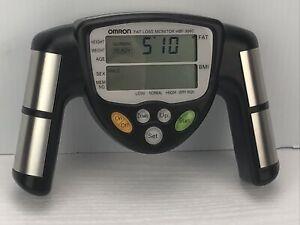 Omron HBF-306C Fat Loss BMI Monitor Tracker - Black TESTED