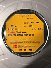 Kodak Vericolor Internegative Film 6011 Bulk 35mm 100'