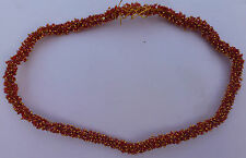 Jewellery Making Lots of Red Bead with Gold Jump Ring, Jhumka Making, 2mm Beads