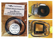 O-ring & Silicone Grease Kit for Sony MPK-WA Diving Underwater Housing Case