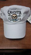 CALCUTTA BAITS FISHING HAT  ( WHITE )