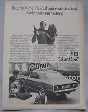 1970 Opel Rekord Original advert No.2