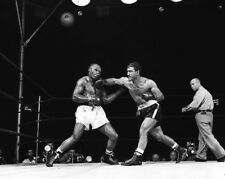 1953 Heavyweight Fight ROCKY MARCIANO vs JOE WALCOTT Glossy 8x10 Photo Poster