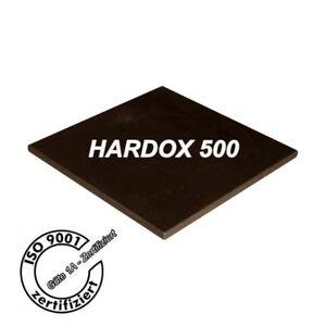 HARDOX 500 - Stahlplatten nach Maß - gebrannt - und entgratet