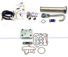 03-07 6.0 60 Ford Powerstroke Coolant Filter Kit W/EGR Delete Kit & Oil Cooler