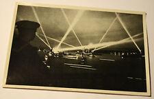 OLYMPIA 1936 Game Kriegsmarine projectors in the port of Kiel Bild Nr124 Gr60