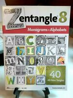 Zentangle 8 Monograms Alphabets By Suzanne McNeill