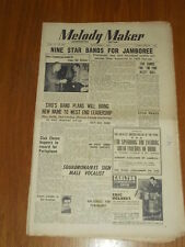 MELODY MAKER 1949 #839 SEPT 3 JAZZ SWING MAX JAFFA INKSPOTS DON CARLOS LUNDY
