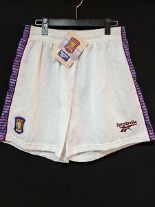 1995-97 Aston Villa Football Shorts Soccer Reebok L BNWT