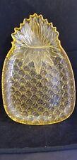 Pineapple serving platter  plastic