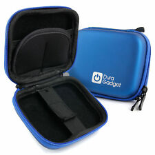 Blue EVA Hard Shell Case for Sony HDR-AS100V, HDR-AS200V with Storage & Clip