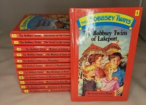 Bobbsey Twins New Edition books 1-13 missing 9, ver good condition- read
