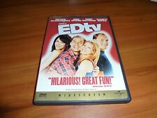 EdTV (DVD, 1999, Widescreen Collectors Edition) Matthew McConaughey Used Ed TV