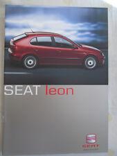 Seat Leon range brochure Jan 2001