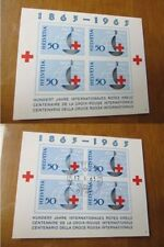 Red Cross Swiss Stamps