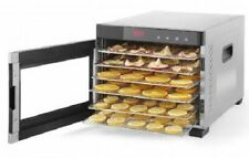 "OPEN BOX Samson ""Silent"" 6 Tray All Stainless Steel Dehydrator Glass Door"
