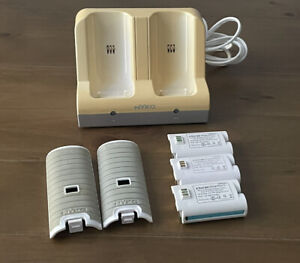 Nyko Nintendo Wii Charge Station Dock w/ 3 Rechargeable Battery Packs & 2 Covers