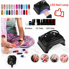 64W Cordless Rechargeable LED UV Nail Lamp Light Gel Polish Nail Dryer & Timer