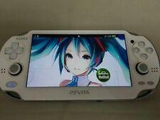Used PS Vita 3G/WiFi Model PCHJ-10002 Console Hatsune Miku Limited F/S Japan
