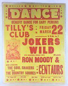 Bernard Smith/Jokers Wild 22x28 Show Poster - Tilly's Richmond - Northern Soul