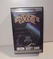 ENDER'S GAME  AUDIO-BOOK CASSETTE UNABRIDGED_ORSON SCOTT CARD AUDIO BOOK 2002