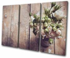 Wood Floral Original Art Prints
