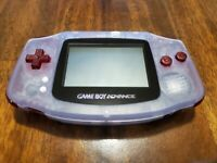 NINTENDO GAMEBOY ADVANCE - CLEAR W/ RED BUTTONS - MINT CONDITION!