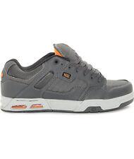New DVS Enduro Heir Grey & Orange Skate Shoes Men's Sz 10