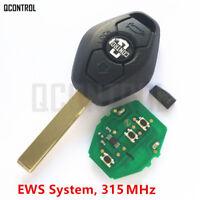 Car Remote Key for BMW EWS 1/3/5/7 Series X3 X5 Z3 Z4 with ID44 Chip 315MHz HU92
