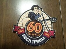 "AWESOME ELVIS PRESLEY ROCK ""N"" ROLL IRON ON PATCH RARE!!!! 3 1/2"" X 3"""