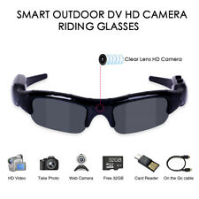 Fishing Glasses Camera 3 in 1 Digital Sunglasses UV400 Fishing Cycling Glasses